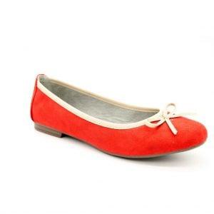 JANA BALERINY 22164-24 500 1 sklep internetowy Obuwie RED