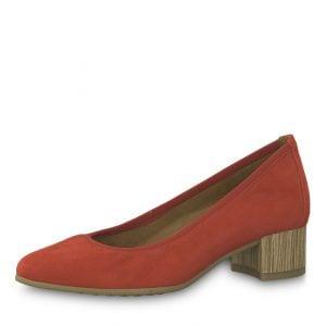 Czółenka Tamaris Antishokk sklep obuwniczy Obuwie RED