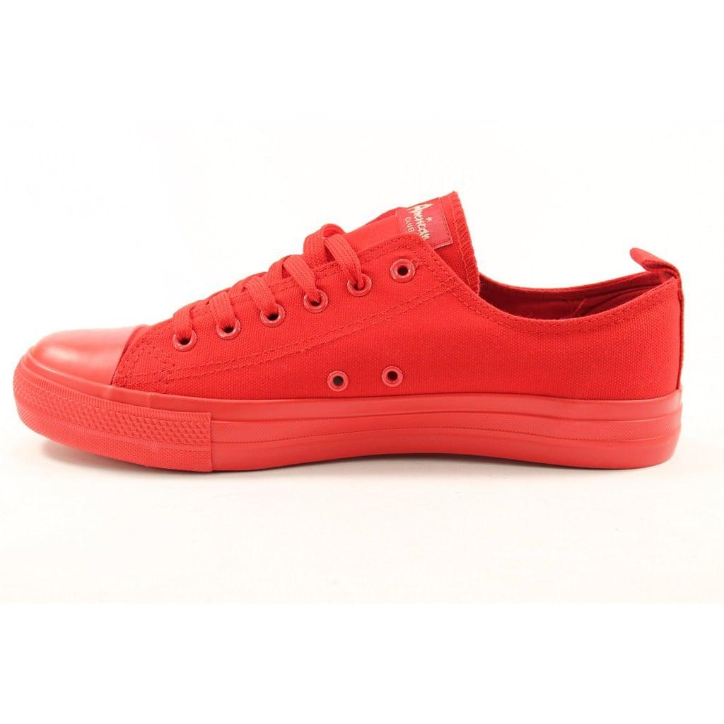 Tenisówki Półtrampki American sklep obuwniczy Obuwie RED