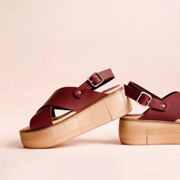 sandaly na platformie sklep internetowy obuwie red2