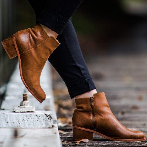 Botki damskie klasyczne sklep obuwie red