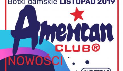 Botki damskie American – Listopad 2019